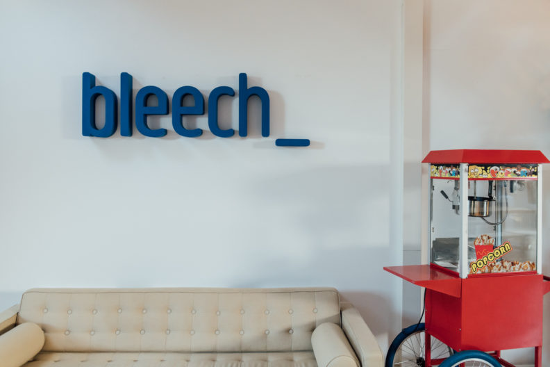 bleech logo