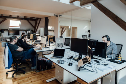 Developers at work