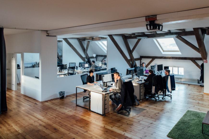 bleech agency office view